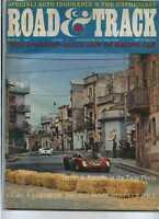 Road & Track August 1967 Ferrari Targa Florio MBX25