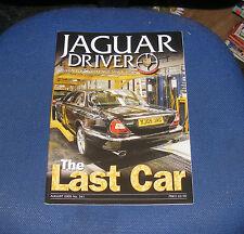 JAGUAR  DRIVER ISSUE 541 AUGUST 2005 - THE LAST CAR