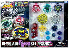 Takara tomy beyblade BB-97 gravity destroyer perseus + string launcher lr + grip set