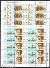 Europa CEPT 1992 vellen Cyprus 790-793 Cat waarde € 45