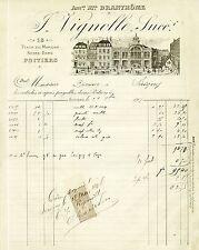 Dépt 86 - Poitiers - Belle Facture Ancienne Maison Branthôme - VIGNOLLE de 1905