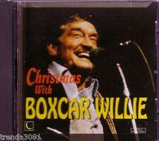 BOXCAR WILLIE Christmas with CD Classic 60s Country Santa Fe Sam Hobo Bill Rare
