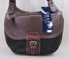 CHAPS by Ralph Lauren Spencer Crossbody Handbag Purse Style Black NEW