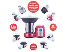 Gourmetmaxx Thermo Multikocher Premium 1500W Kochen Mixen 10in1 Küchenmaschine R