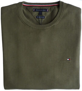 TOMMY HILFIGER Pullover TH CLASSIC C-NK SWEATER, Grape Leaf