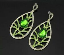 Screw Back (pierced) Glass Unbranded Alloy Costume Earrings