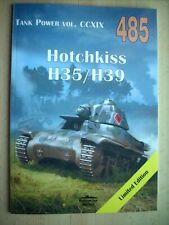 HOTCHKISS H35/H39 - MILITARIA  485 Janusz Ledwoch NEW!!!