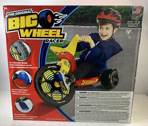 """New The Original Big Wheel 16"""" Racer Red USA Tricycle Sealed 2018"""
