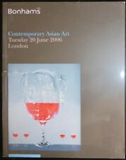 Auction Catalogue Bonhams London Contemporary Asian Art June 20, 2006