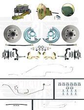 """1964-1967 Chevelle Hardtop Front 9"""" Power Disc Brake Conversion & Full Line Kit"""