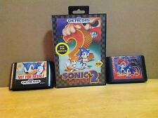 Sonic The Hedgehog 1 2 & Sonic & Spinball - Sega Genesis