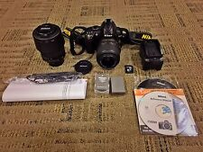 Nikon D3000 + 2 Lenses (18-55mm & 55-200mm VR) Kit