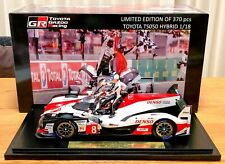 Not 4 Sale | Spark 1:18 Toyota GAZOO TS050 HYBRID Alonso for TMG team members