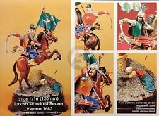 Kirin 120mm (1/16) Mounted Ottoman Turkish Standard Bearer in Vienna 1683 21538