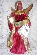 African American Angel Ornament Angel Tree Topper/Table Top