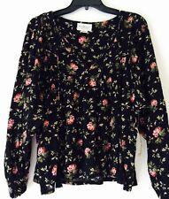 Denim & Supply Ralph Lauren Floral Peasant Top. Size XS.