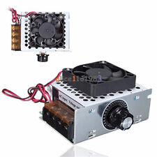 4000w Ac 220v Voltage Regulator Motor Speed Controller Fan Thermostat Dimmer