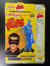 VINTAGE! 1995 Kellogg's Corn Pops Batman Forever Cereal Box-Robin