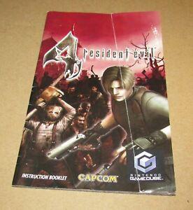 Resident Evil 4 (Instruction Manual Only) for Nintendo GameCube