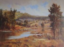 Serenity by Chris Huber, Large Australian Landscape. Decorator Piece.