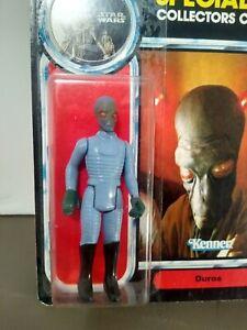 Star wars POTF 1985 Duros figurine On card