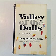 Vintage 1966 Jacqueline Susann Valley Of The Dolls Hardcover w/Dj Tenth Printing