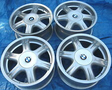 "BMW E28 535i M5 E24 M6 E30 M3 E34 525i OEM Star Spoke Style 10 17x8"" Wheels Rims"