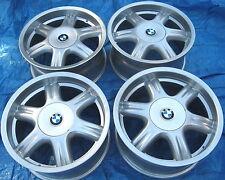 """BMW E28 535i M5 E24 M6 E30 M3 E34 525i OEM Star Spoke Style 10 17x8"""" Wheels Rims"""