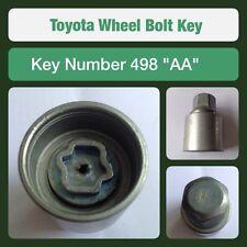 "Genuine Toyota Locking Wheel Bolt / Nut Key 498 ""AA"""