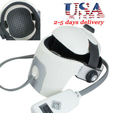 USA Full Head Acupressure Massager Vibration Music Heat For Relaxation & Stress