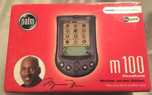 RARE! Michael Jordan Palm One m100 Handheld Palm Pilot PDA Organizer New Sealed