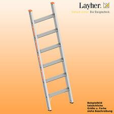 Layher Alu Stufenanlegeleiter,  Leiter 6 Stufen,  L=1,65m,Topic Typ 1042.006