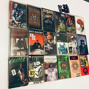 Lot of 50+ Massive Collection Cassette Tapes & Singles Hip Hop Funk Soul Oldies