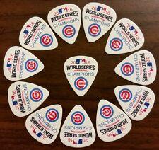 Chicago Cubs World Series Champions Guitar Picks (12 picks)