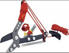 Wolf-Garten Multi-Change® Adjustable Anvil Tree Lopper Cutter Tool, Pully System