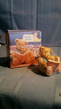 "Cherished Teddies Teddy And Roosevelt ""The Book Of Teddies"" #624918"