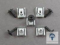5x Motor- Unterfahrschutz Schraube 8K0805121 mit 5x Klammer 8K0805922A für Audi