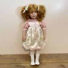 "paradise galleries 23"" little girl doll by hildegard gunzel"