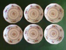 "Royal Albert Petit Point - 6 Fruit Dessert Bowls - 5.25"" or 13.5 cm dia"