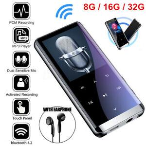 Bluetooth MP3 Player MP4 Media FM Radio Recorder HIFI Sport Music Speakers US