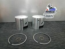 Kawasaki js440 JS 440 Jetski Mariner Standard STD Size Piston & rings & circlips