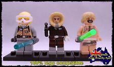 STAR WARS HOTH LUKE SKYWALKER HAN SOLO Minifigure 3 Minifigures, Lego compatible