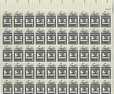 FREEDOM OF THE PRESS 4¢  #1119 – 1958   MNH Stamps Full Sheet