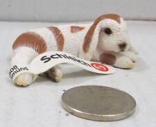 Schleich Dwarf Lop Lying Bunny Rabbit 13697 Retired