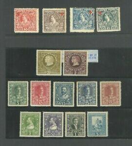 Montenegro 1910 Stamps MNH MLH