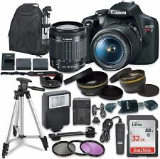 Canon EOS Rebel T7 Digital SLR Camera with Canon EF-S 18-55mm Image Stabilizatio