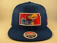 Kansas Jayhawks NCAA Zephyr Snapback Hat Cap Statement