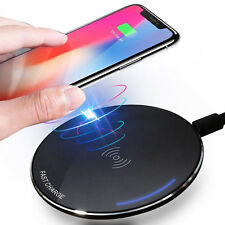 Qi Wireless Charger for iPhone X/XS Max XR 8 8 Plus Visible Fast Wireless Charge
