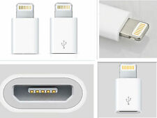 mini USB 8 pin to Micro  Charger Converter Adapter For iPhone 5 5S 5C iPod 2pc
