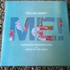 "TAYLOR SWIFT & BRENDON URIE (PANIC AT THE DISCO) ""ME!"" 7 REMIX NEW PROMO CD"
